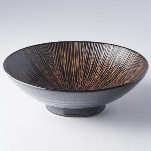 Bronze Converging Ramen Bowl 24 cm