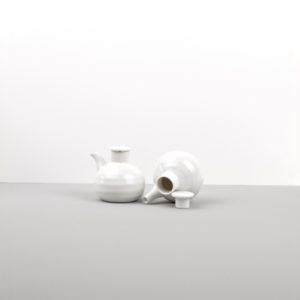 White pourer for soy sauce SOY POT