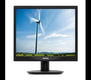 Philips MT 17″ LED monitor – 17S4LSB/00 – 1280×1024, 5ms, D-Sub, DVI-D, černý