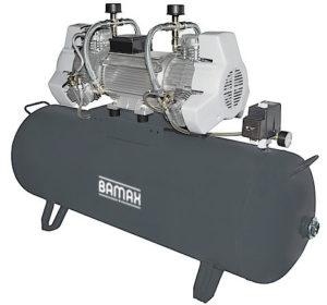 Bezolejový kompresor Bamax Prime OLE720/200F