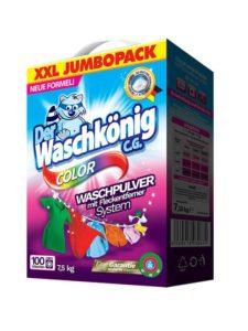 WaschKönig prací prášek 7,5 kg Color – 100 praní