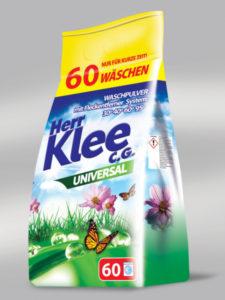 Klee Universal prací prášek 5 kg 60 PD