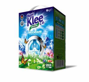 Klee Universal prací prášek 10 kg – kartonové balení