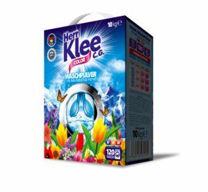 Klee Color prací prášek 10 kg – kartonové balení