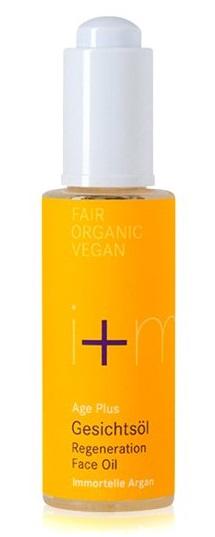 i+m Naturkosmetik Age Plus Regenerační obličejový olej proti vráskám 30 ml