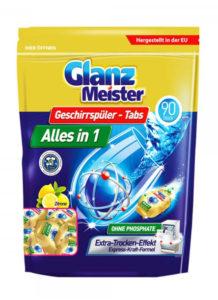Glanz Meister tablety do myčky Alles in 1 – 90ks