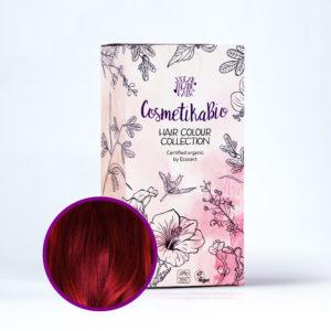 Cosmetikabio 100% přírodní henna Vínově červená 100 g