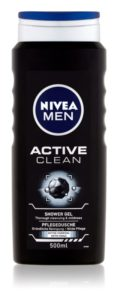 Nivea Men sprchový gel 500ml – Active Clean
