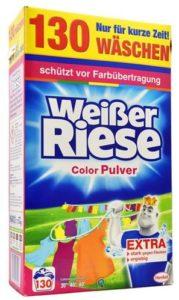 Weisser Riese prací prášek 7,15kg Color 130W