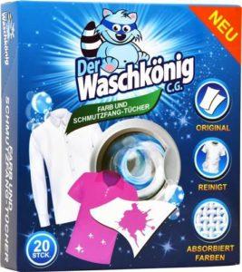Waschkönig ubrousky proti zabarvení prádla – 20ks