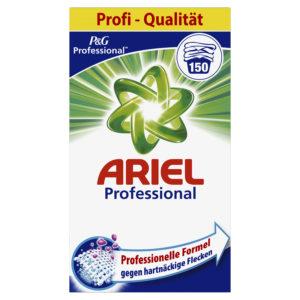 Ariel Professional prací prášek Universal 9,750kg  – 150W