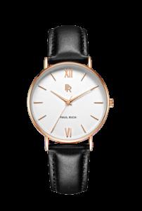 Zlaté dámské hodinky Paul Rich s páskem z pravé kůže Venice – Gold Leather