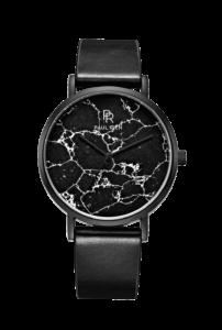 Černé dámské hodinky Paul Rich s páskem z nerezové oceli Monaco Black – Mesh