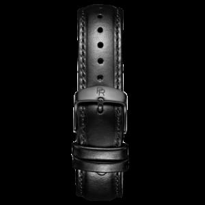 Černý pásek na hodinky Paul Rich Hamptons Black Leather