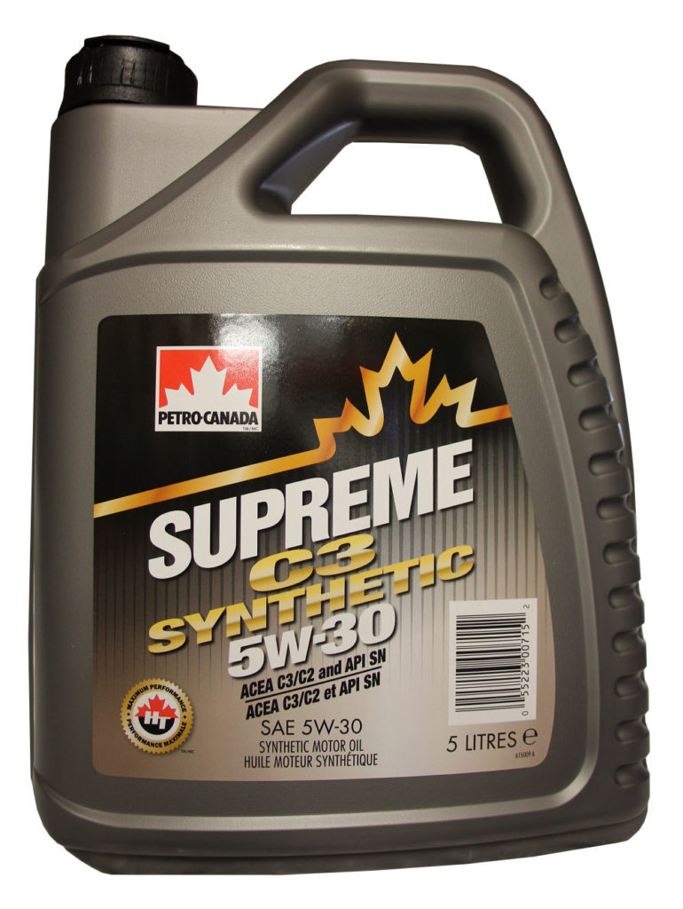 PETRO-CANADA Supreme C3 Synthetic 5W-30 – 5 L