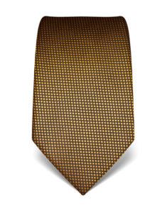 Žlutá kravata Vincenzo Boretti 21934 – struktura čtvereček