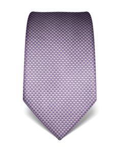 Světle fialová kravata Vincenzo Boretti 21937 – kohoutí stopa