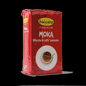 Saccaria Moka 250g vakuovaná mletá káva