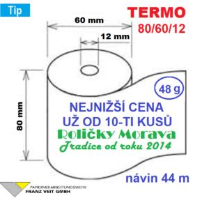 Termo 80/60/12 44 m