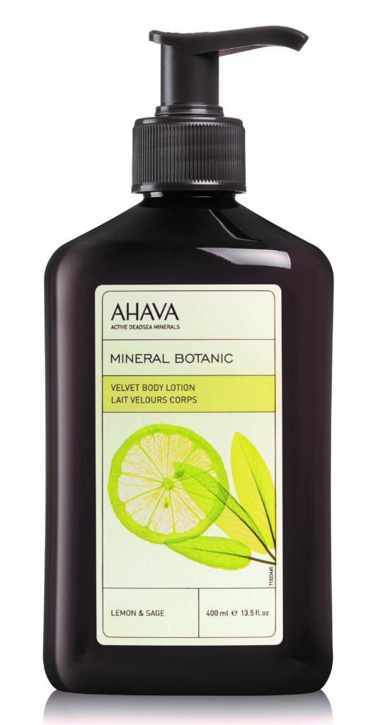 Mineral Botanic Sametové tělové mléko citron a šalvěj 400ml – Expirace 04/2019