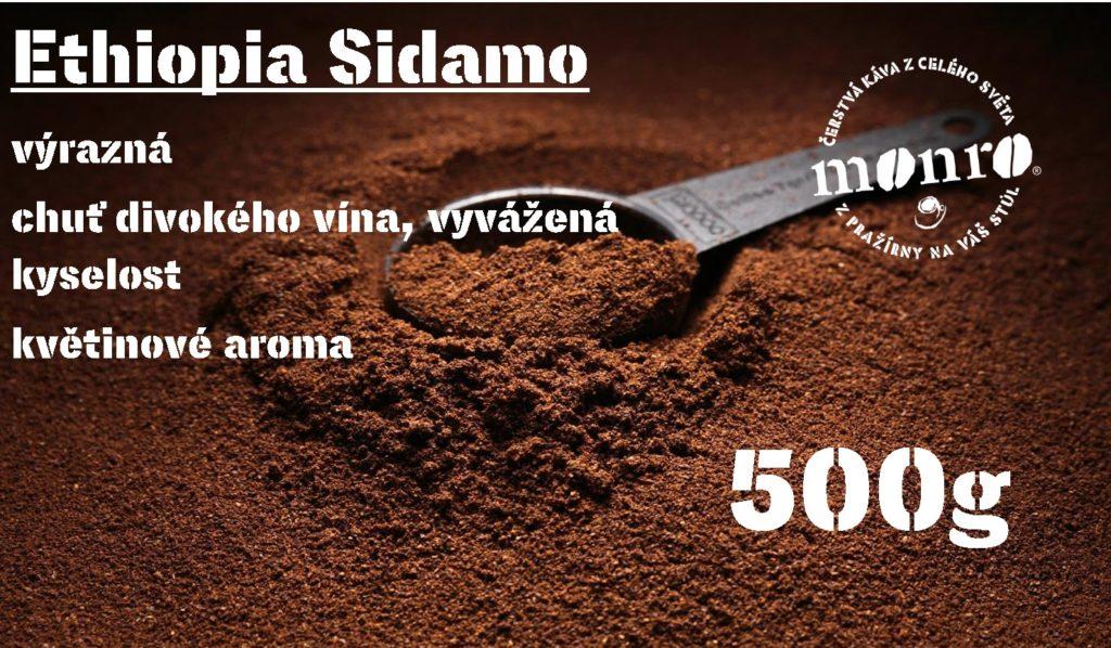 ETHIOPIA SIDAMO MLETÁ 500g