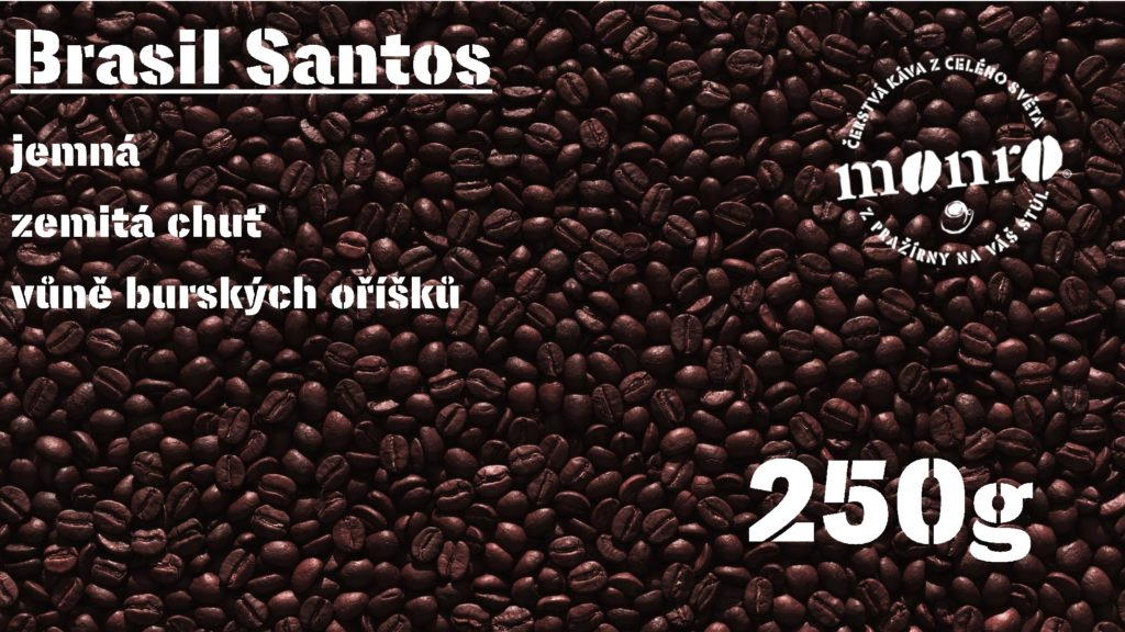 BRASIL SANTOS ZRNKOVÁ 250g