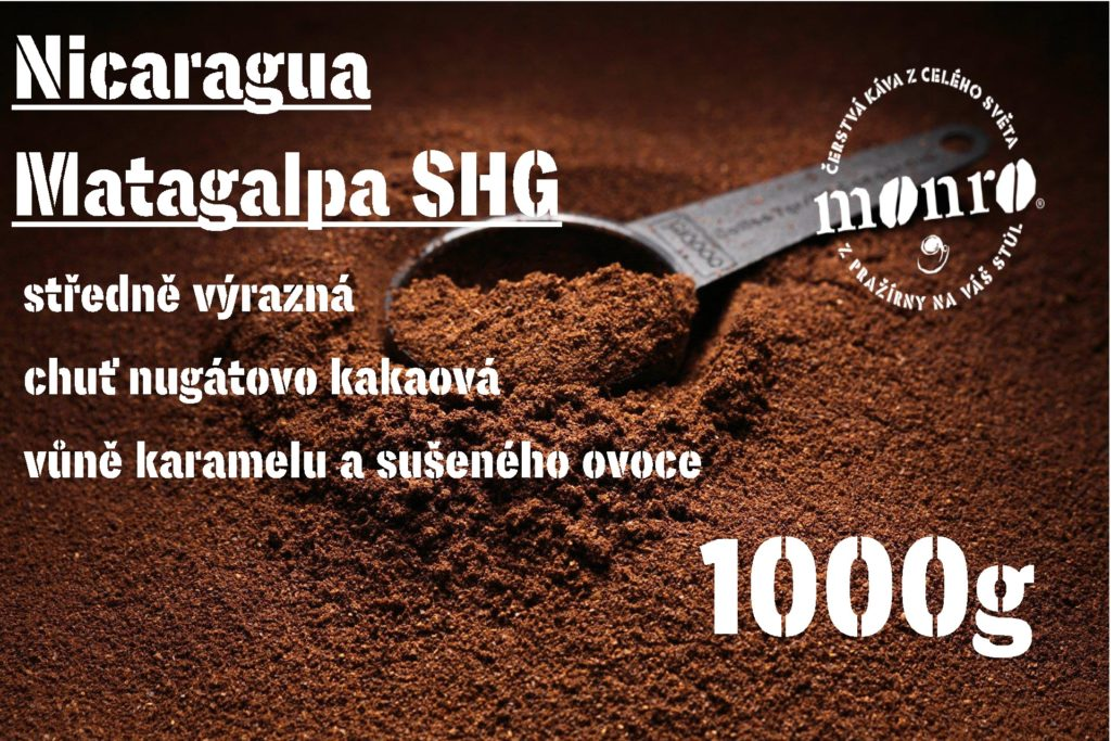 NICARAGUA MATAGALPA SHG MLETÁ 1000g
