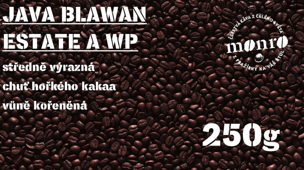 JAVA BLAWAN ESTATE A WP ZRNKOVÁ 250g