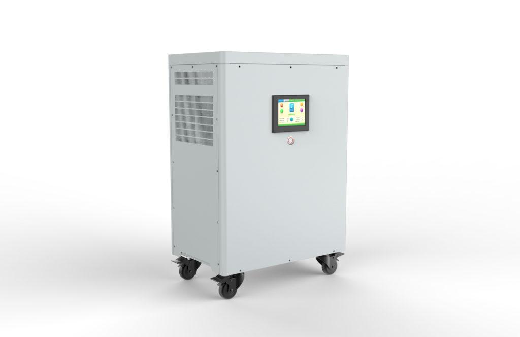 Hybridní / ostrovní elektrárna, záložní zdroj, úložiště NS Olin 5 kWh, 3 kW