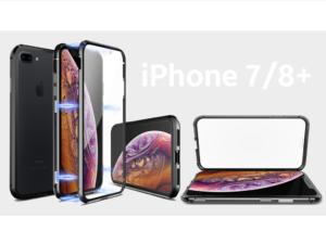 Oboustranný magnetický kryt pro iPhone 7/8 plus