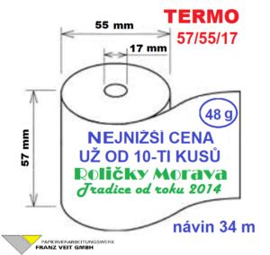 Termo 57/55/17 34 m
