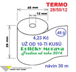 Termo 28/50/12 30 m