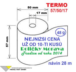 Termo 57/50/17 28 m