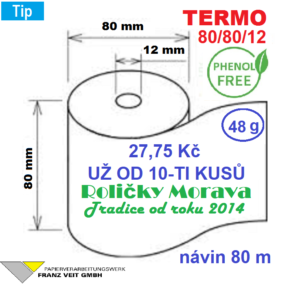 Termo 80/80/12 PHF 80 m