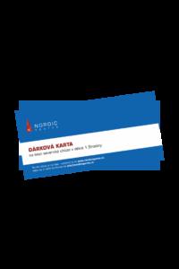 Dárková karta na lekci Nordic walking v délce 1,5h