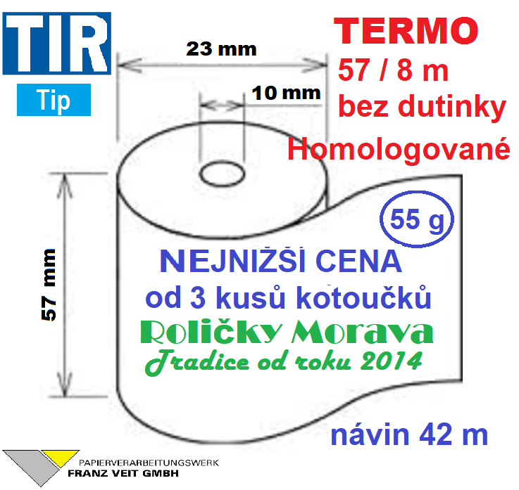 Termo 57/8 m