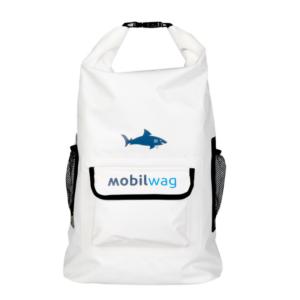 Vodotěsný mobilwag batoh s popruhy barva bílá
