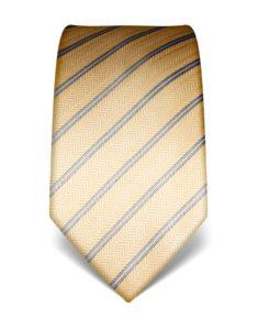 Strukturovaná kravata Vincenzo Boretti 21942 – žlutá