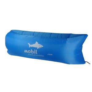 Nafukovací XL Lazy Bag světle modrý