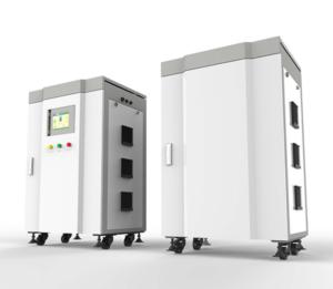 Hybridní / ostrovní 3f elektrárna, záložní zdroj, úložiště NS Trifasor 30.8 kWh, 12 kVA