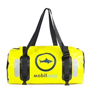 Vodotěsný mobilwag oválný vak – jezevčík žlutý