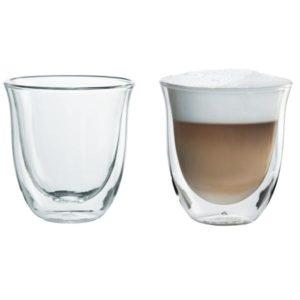 Sklenice na cappuccino DeLonghi 2 ks