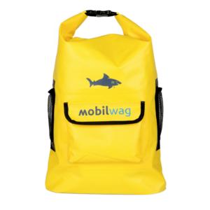 Vodotěsný mobilwag batoh s popruhy barva žlutá