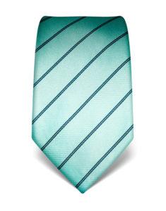 Světle tyrkysová kravata Vincenzo Boretti 21914