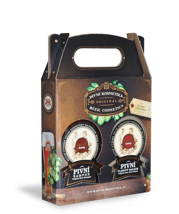 Pivní šampon + pivní vlasový balzám – 300 ml
