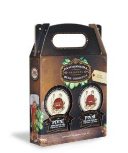 Pivní sprchový gel + pivní tělový peeling – 300 ml