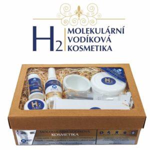 Dárkový kosmetický balíček s molekulárním vodíkem