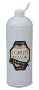 TOMFIT masážní přírodní rostlinný olej – MANDLOVÝ 1 l