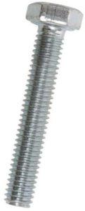 Šroub se šestihrannou hlavou zinkovaný s celým závitem – DIN 933