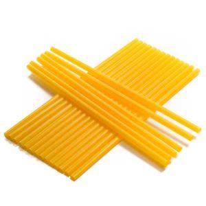 Brčko žluté jumbo   balení 100 ks